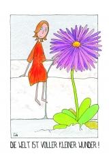 <h5>Die Welt ist voller kleiner Wunder</h5><p>Ich entdecke immer wieder wundervolle Kleinigkeiten, die meinen Alltag in einen bunten Garten verwandeln!</p>