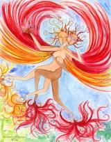 <h5>Falkenliebe</h5><p>Miteinander frei fliegen, in Liebe verbunden.</p>