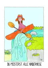 <h5>Du meisterst alle Hindernisse</h5><p>Oh... das ist gefährlich! Aber auch spannend und aufregend. In meinem Bauch fliegen die Schmetterlinge! Das werde ich meistern!</p>