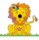 <h5>Johannas Löwe</h5><p>Für die Tochter von Freunden gemalt, die in ihrer Schule die Löwenklasse besucht hat</p>