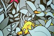 <h5>Der Löwe im Nachtwald</h5><p>Das erste Nachtwaldbild und wohl auch das am meisten Liebgehabte!</p>